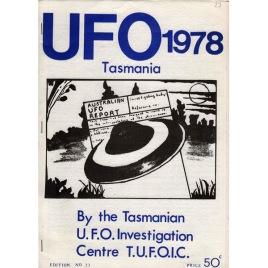 Tasmanian UFO Investigation Newsletter / UFO Tasmania (1978-2002)