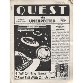 QUEST/UFO REPORT (K Glemser) (1970-1974)