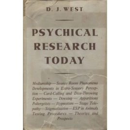 West, D. J.: Psychical reseah Today