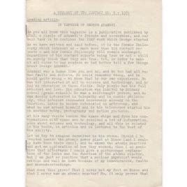 UFO Kontakt - IGAP Journal (H C Petersen) (1969-1972)