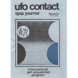 UFO Contact - IGAP Journal - Newsletter (H C Petersen) (1980-1986)