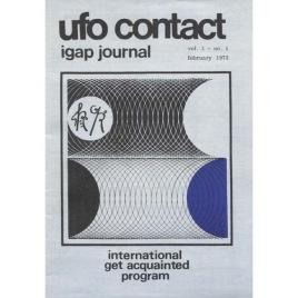 UFO Contact - IGAP Journal (H C Petersen) (1973-1978)