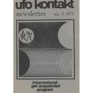 UFO Kontakt - IGAP Journal (H C Petersen) (1969-1972) - 1971 - UFO Kontakt Newsletter no 5