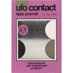 UFO Contact - IGAP Journal (Ronald Caswell & H C Petersen) (1966-1968) - 1966 Dec - issue 2