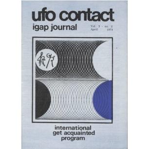UFO Contact - IGAP Journal (H C Petersen) (1973-1978) - 1974 April - vol 3 n 2