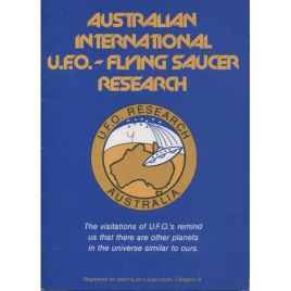 Australian International UFO Flying Saucer Research (1978-2005)