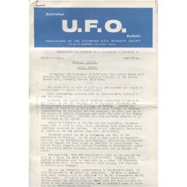 Australian UFO Bulletin (1974,1981-1986)