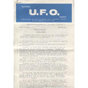 Australian UFO Bulletin (1974,1981-1986) - 1974 Jun? (6 pages)