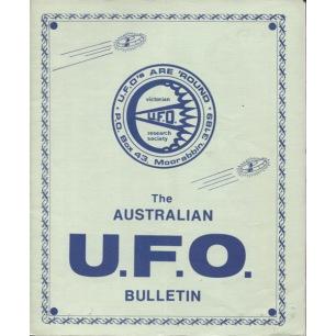 Australian UFO Bulletin (1987-1990) - 1987 Mar