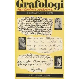 Lundgren, Gustaf: Grafologi : handstilens psykologi.(Sc)