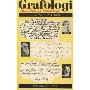 Lundgren, Gustaf: Grafologi : handstilens psykologi.(Sc) - Very good