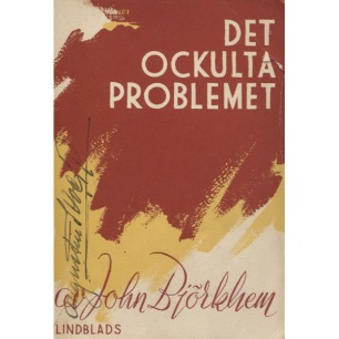Björkhem, John: Det ockulta problemet (Sc) - Good, underlines, small torn on spine