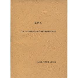 Romell, Marie-Marthe: Om dubbelgångarproblemet(Sc)