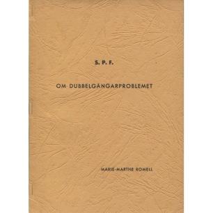 Romell, Marie-Marthe: Om dubbelgångarproblemet(Sc) -
