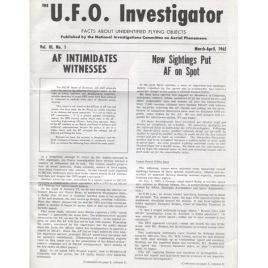 U.F.O Investigator (1965-1969)