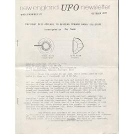 New England UFO Newsletter (1980-1982)