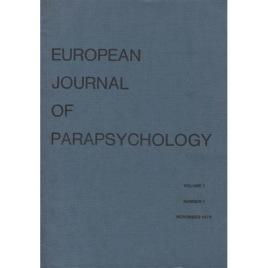 European Journal of Parapsychology (1975-1989)
