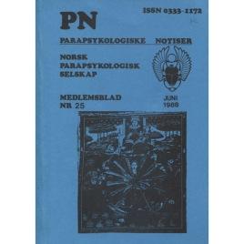 Parapsykologiske Notiser (PN) (1988)