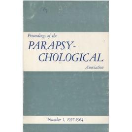 Proceedings Of The Paraspychological Association (1957-1971)