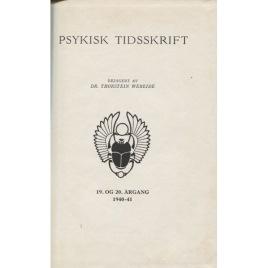Psykisk Tidskrift (1941)