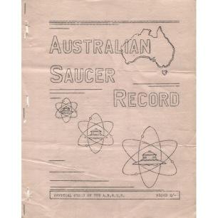 Australian Saucer Record (1956-1963) - 1956 Vol 2 No 3