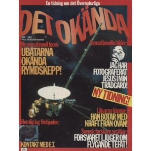 Det Okända (1983-1985) - 1983 No 01