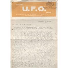 Australian UFO Bulletin (1969-1986)
