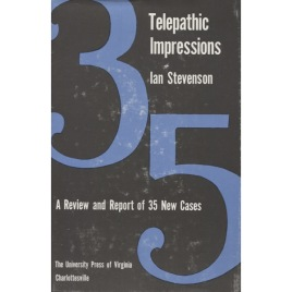 Stevenson, Ian: Telepathic impressions: a review and report of thirty-five new cases