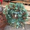 Trädgårdsmästarensval - Julkrans i ädelgran, mindre