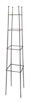 Växtstöd, Obelisk, fyrkant - Växtstöd, Obelisk, fyrkant(liten)- mått(h≈2,4m;bas≈31cm)