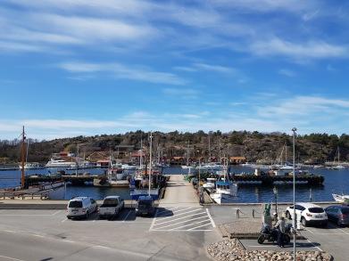 Utsikten från Skärgårdshuset.