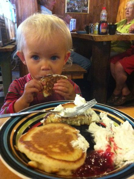 Alla älskar pannkakor. Stora som små...