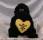 Gorilla m Hjärta ca 30 cm