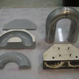 Pressverktyg ljuddämpartillverkning