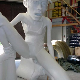 Skulptur till köpcenrum i Linköping