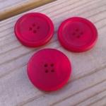 Rödmelerad knapp, stor