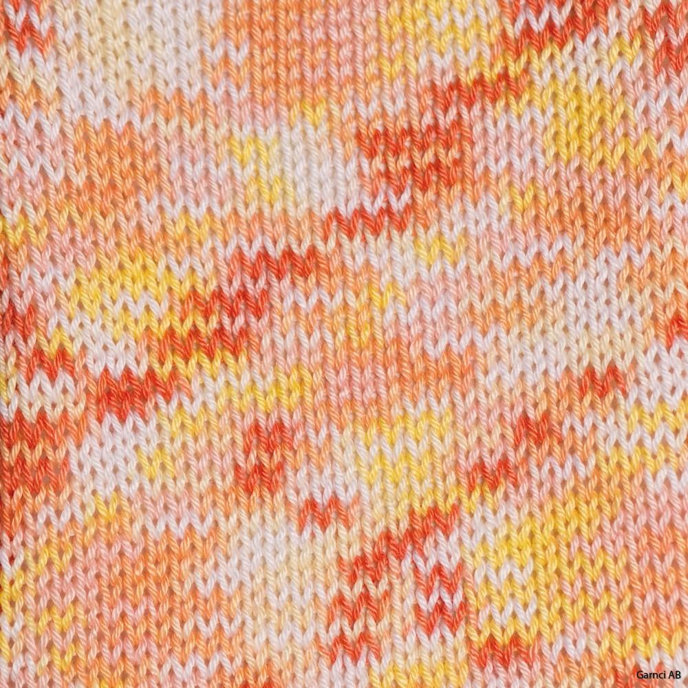Orange/rosa/gul/vit 423