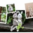 Virkset,  Kaninerna Lily & Tim