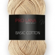 Pro Lana Basic Cotton - 08 Ljusbrun