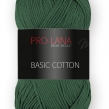 Pro Lana Basic Cotton - 72 Skogsgrön