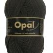 Opal, enfärgat sockgarn - 5191 Anthrazit grå