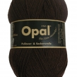 Opal, enfärgat sockgarn - 5192 Mörkbrun