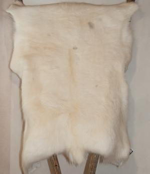 Renskinn vitt - Reindeer skin white -