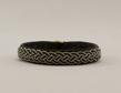 Tennarmband - Tinbracelet  - Tennarmband svart - black 15 cm