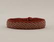 Tennarmband - Tinbracelet  - Tennarmband rött  - red 15 cm
