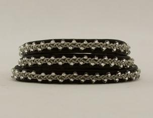 Tennarmband 3-varv - Tin bracelet 3 rows