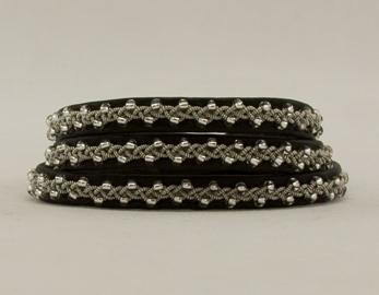 Tennarmband 3-varv - Tin bracelet 3 rows - 3-varvs armband