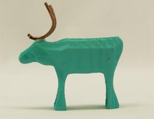 Ren stående - Reindeer standing