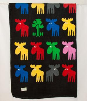 Fleecepläd - Fleece blanket -