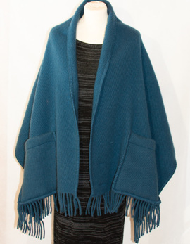 Sjal i ull - Shawl in wool -
